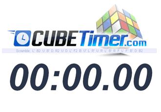 chronomètre rubiks cube