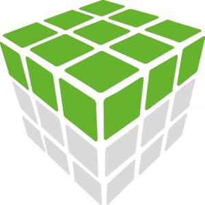 première ligne du Rubicube